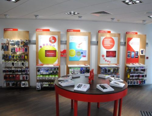 Vodafone Direct stores, Nationwide