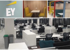 EY Office Collage