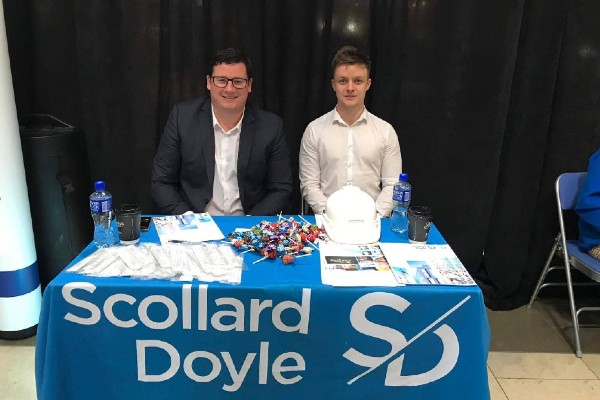 CIT careers fair Scollard Doyle Quantity Surveyors
