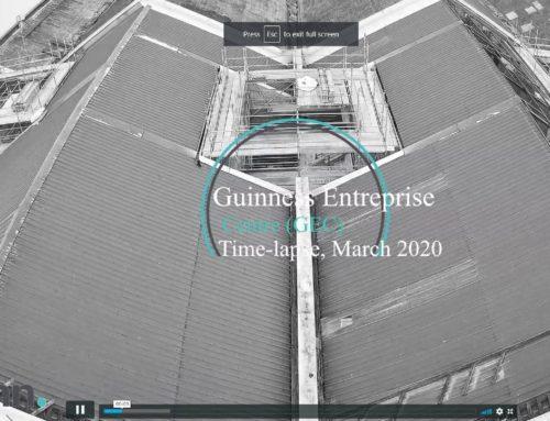 Guinness Enterprise Centre (GEC) Time-lapse