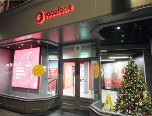 Vodafone's first Experience Store