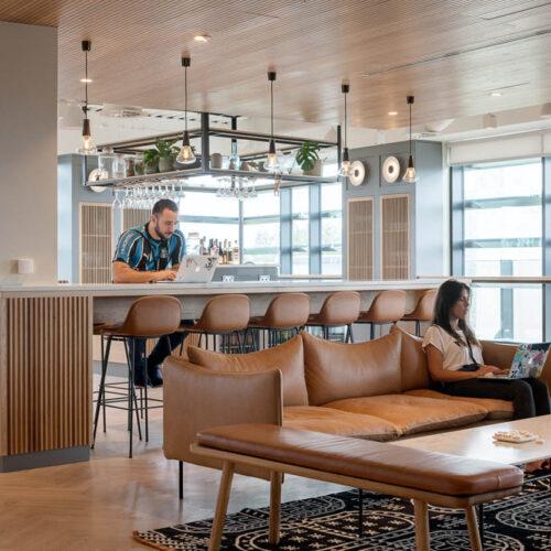 Zendesk EMEA Office fit-out Scollard Doyle